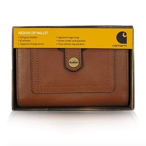 BNIB Carhartt Medium Zip Wallet / Clutch